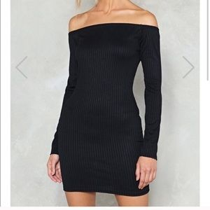 Sexy ribbed body-con dress from nasty gal ❤️